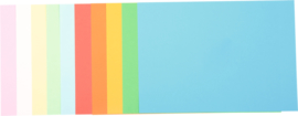 Set papier in gemengde kleuren