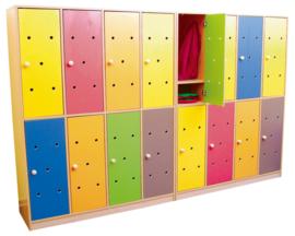 Deuren voor regenboog garderobe 8 stks