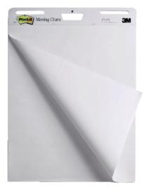 Meeting chart 3M Post-it 635x762mm blanco 2 pak