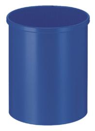 Papierbak Vepabins rond 15liter blauw
