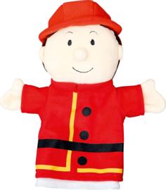 Handpop - brandweerman