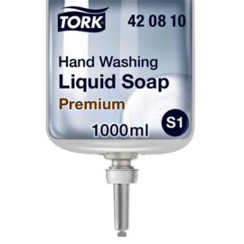 6x Handzeep Tork S1 420810 zonder parfum 1000ml
