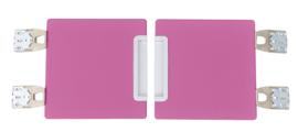 Quadro - garderobe deuren 180 - roze