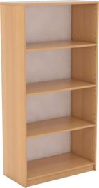 Expo boekenkast met 3 planken - beuken