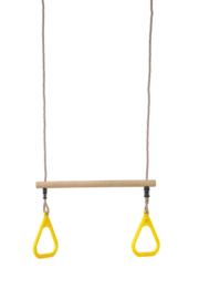 Schommel met trapeze gym ringen