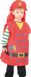 Verkleedpak - brandweerman