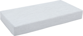 Quadro matras 1 lichtgrijs, hoogte 15 cm