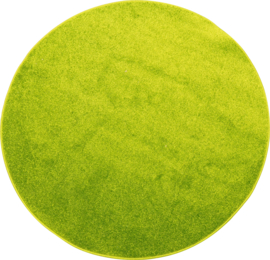 Rond tapijt - diam. 80 cm - groen