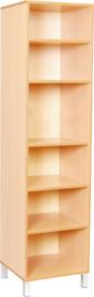Premium hoge boekenkast