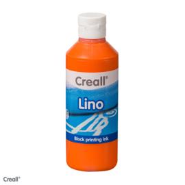 Creall lino/blockprint verf oranje