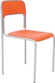 Levi stoel alu oranje