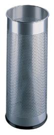 Paraplustandaard 3350 perforatie 62x26cm zilver