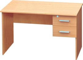 Vigo bureau met 2 laden - beuken