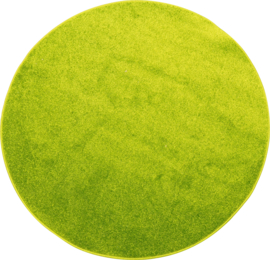 Rond tapijt - diam. 70 cm - groen