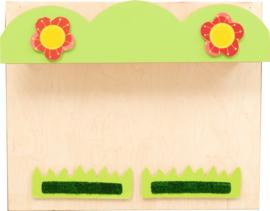 Verwisselbare panelen voor het 099130 sensorische huis - bloempot