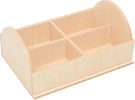 Niveau verhoger voor kast voor plastic bakken - organiseren 4