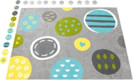 Educatief tapijt 400x300cm - Patronen