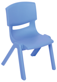 Dumi stoel  blauw, maat 1-4