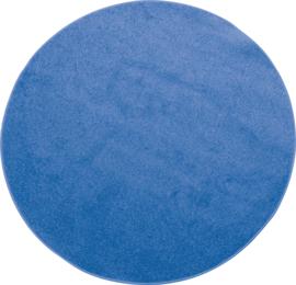 Rond tapijt - dia. 80 cm - blauw