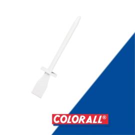 Spatel  colorall 115mm  kunststof  wit