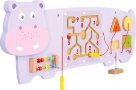 Wandbord- Nijlpaard