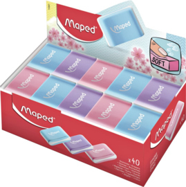 40x Gum Maped Essentials soft pastel  assorti
