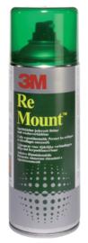 Lijm 3M remount spray spuitbus 400ml