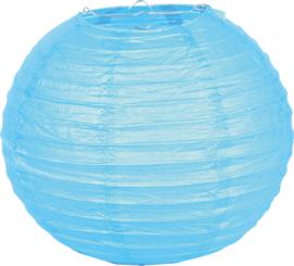 Papieren lampion - turquoise
