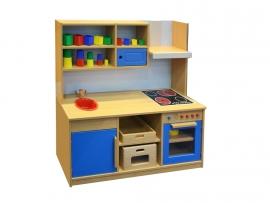 Keuken met opbouw