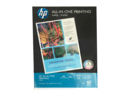 HP all in one papier