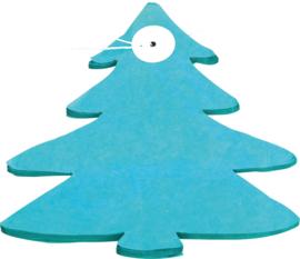 Papieren slinger - kerstboom