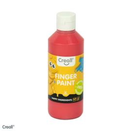250ml Creall-fingerpaint rood