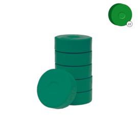 Colorall verfblokken Ø 5,5 cm 6 dlg - Donkergroen