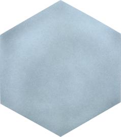 Geluiddempende zeshoek - mist, 50 mm