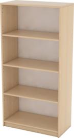 Expo boekenkast met 3 planken - esdoorn