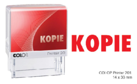 Woordstempel Colop Printer 20 kopie rood