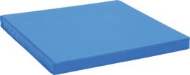 Lichte mat 100x100cm - blauw