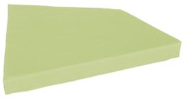 Quadro matras lichtgroen, hoogte 10 cm