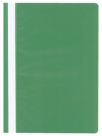 10x Snelhechter Quantore A4 PP groen
