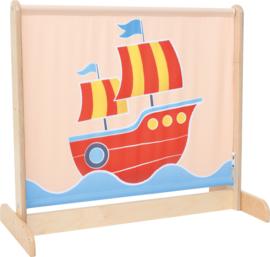 Afscheidingsscherm laag - het schip