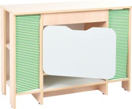 Quadro keuken - Kast met planken