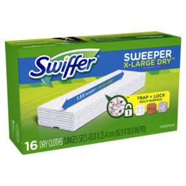 Swiffer navulling XXL met 16 droge doekjes