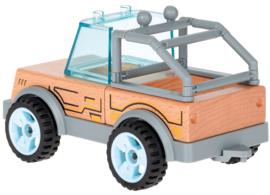 Houten SUV om te monteren