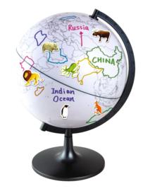 Globe - verf de wereld