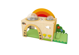 Sensorische regenboog verstopplek -  rechts