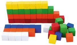 Houten blokken tellen