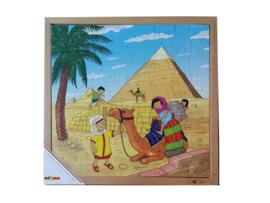 Puzzel pyramide