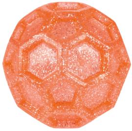 Knipperende bal met glitter