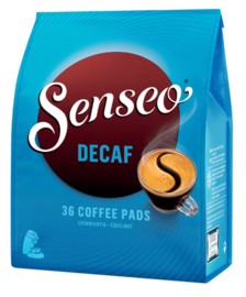Koffiepads Douwe Egberts Senseo decafe 36 stuks