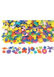 Foam grappige figuren 1000 stuks